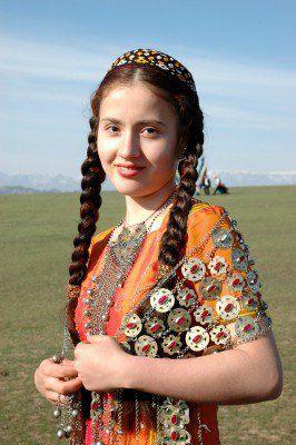туркмены фото девушек